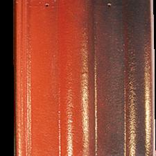 Ngói màu Đỏ - Đen Sóng nhỏ